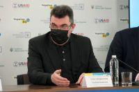 Cекретарь СНБО Алексей Данилов выступает на форуме «Украина 30. Культура. Медиа. Туризм».