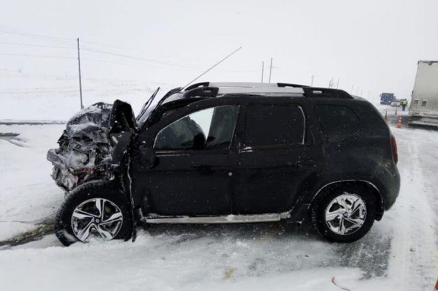 ДТП произошло на 170 км автодороги «Казань-Оренбург-Акбулак».