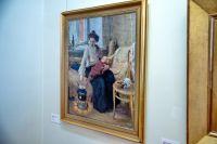 На выставке представлены 67 произведений отечественного искусства XVIII-XX веков.