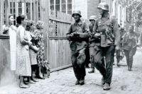 В доме Владимира Дмитренко во время оккупации жили немцы.