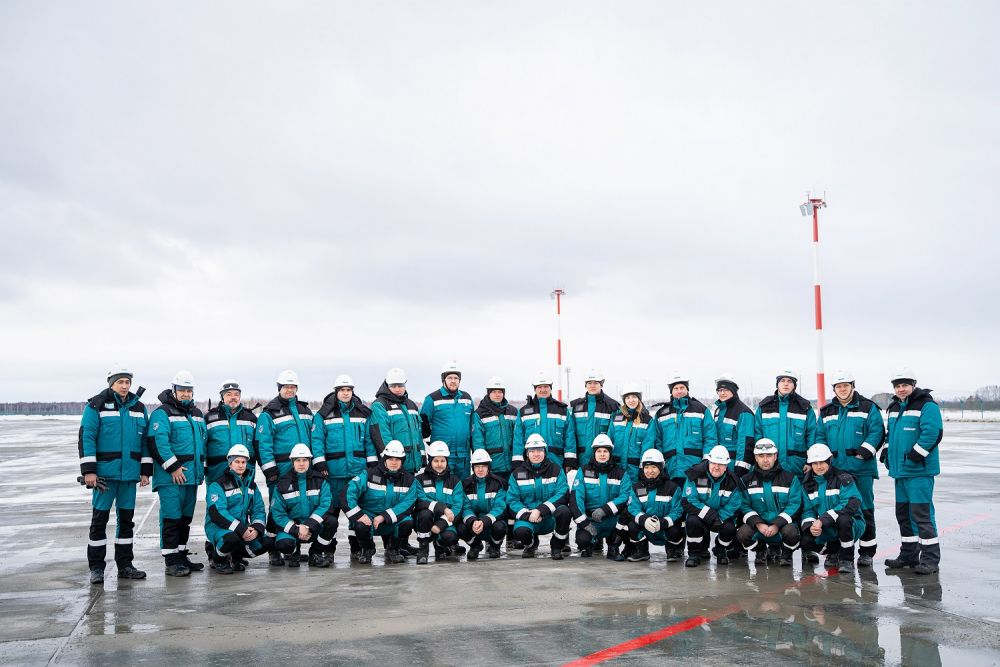 Взлетная полоса строящегося в Тобольске аэропорта получила положительное заключение Ростехнадзора, март 2020.