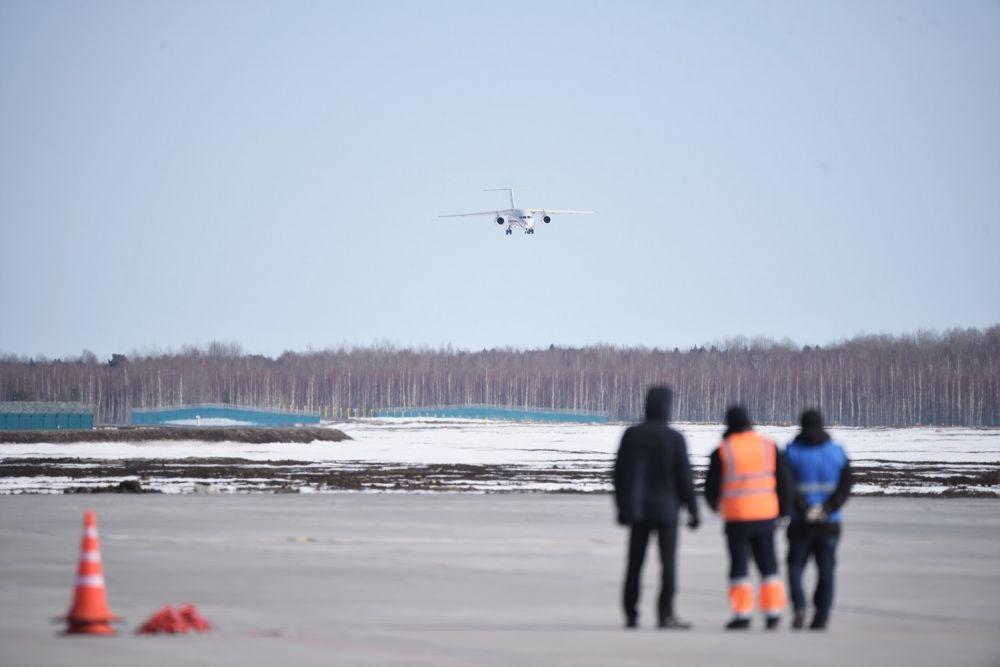 Первый пошел: в тобольском аэропорту состоялся первый технический рейс, март, 2020.