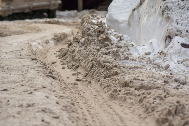 Гололед, колея и снежный накат - причины аварий.