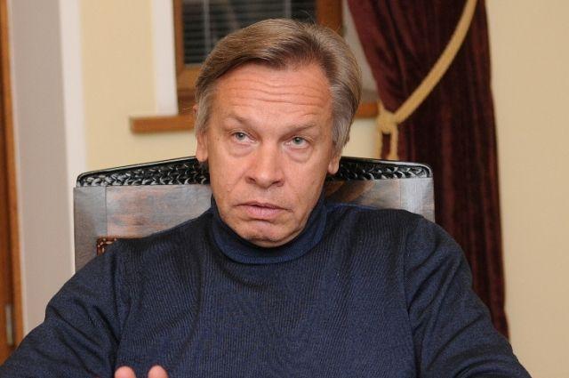 Пушков прокомментировал ограничение доступа к фильму «Крым. Путь на Родину»