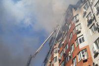 Пожар в Анапе тушили дольше семи часов.