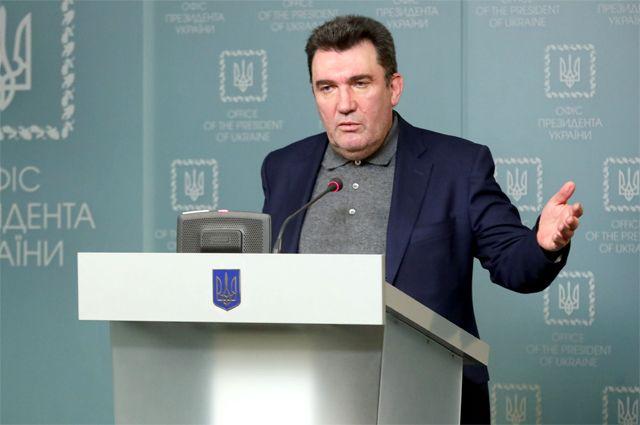 Выступление спикера СНБO Алексея Данилова.