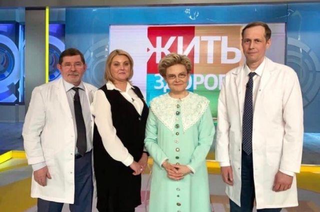 В эфире медики рассказали зрителям о хирургическом лечении хронической тромбоэмболической легочной гипертензии (ХТЭЛГ).