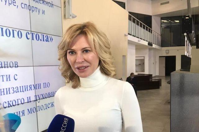 Председатель комитета по взаимодействию с общественными объединениями Заксобрания Ростовской области Екатерина Стенякина.