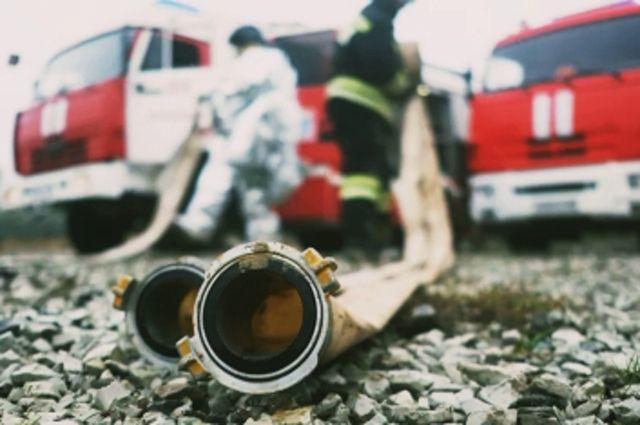 В Краснознаменском районе при пожаре погиб пожилой мужчина