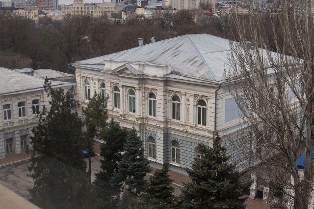 Когда-то в этом особняке располагался музей истории города