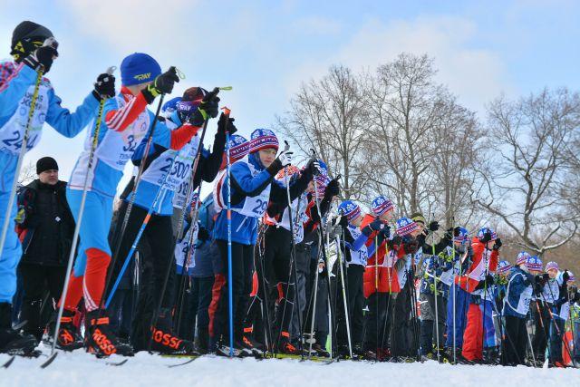 В этом году в забеге участвовали только спортсмены-профессионалы