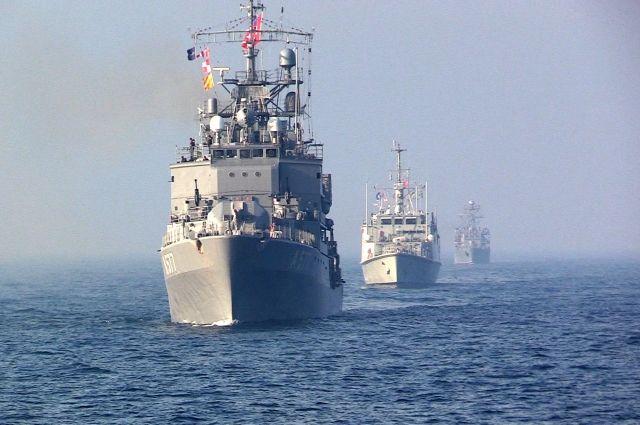 ВМС Украины провели совместные учения со странами НАТО