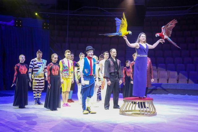 Цирк Филатовых вернулся к активной работе после вынужденного простоя, вызванного пандемией.
