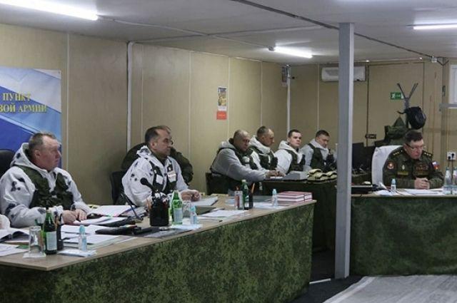 Учение в Центральном военном округе проходит с 16 по 22 марта.