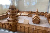 макет Иркутского кремля, автор Б. Лебединский