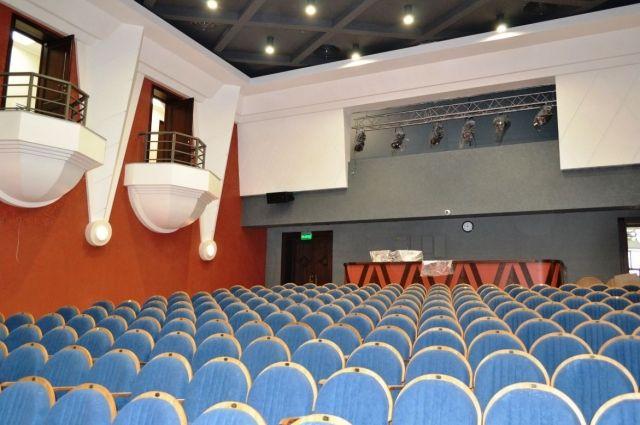 Новое здание театра.