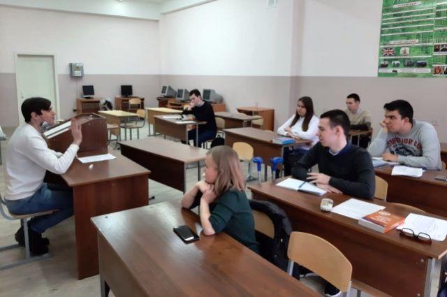 В центре проходят занятия по девяти профессиональным образовательным программам.