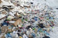 В Бузулуке жители квартала вынесли мусор на обочину дороги после того, как коммунальщики убрали контейнеры.