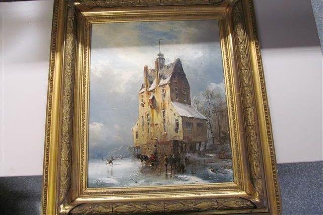 Интерпол разыскивает в Оренбуржье хозяев трех картин 19 века.
