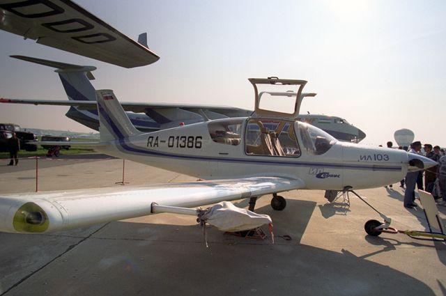 Легкий многоцелевой самолет Ил-103 разработан АК имени С. В. Ильюшина.