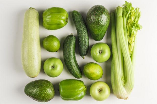 На вкус и цвет. Что особенного есть в зеленых овощах и фруктах