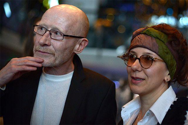 Актер Виктор Проскурин с супругой Ириной Хондой.