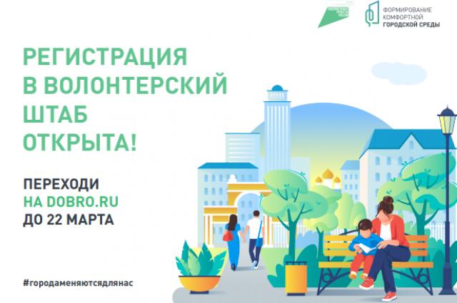 Голосование за территории для благоустройства в 2022 году пройдет с 26 апреля по 30 мая