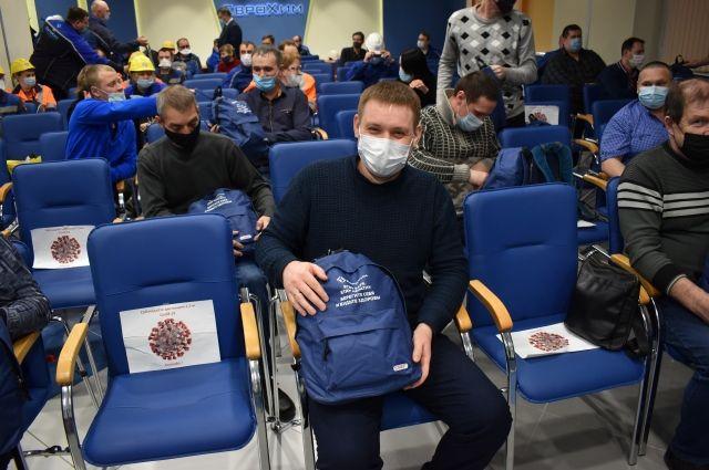Усольский калийный комбинат компании «ЕвроХим» поощряет сотрудников, которые сделали прививки.