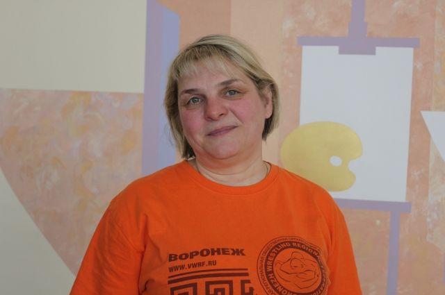 Инна Абаджян уже много лет работает с детьми с синдромом Дауна.