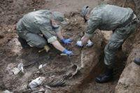 Раскопки ведутся в Всехсвятском некрополе у районе ТЦ «Квант».