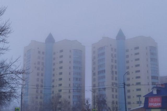 В Оренбуржье ожидается туман.