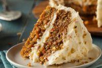 Нежный и вкусный: рецепт морковного торта с грецкими орехами и корицей