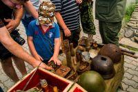 Ребята занимаются поисками останков погибших участников Великой Отечественной войны