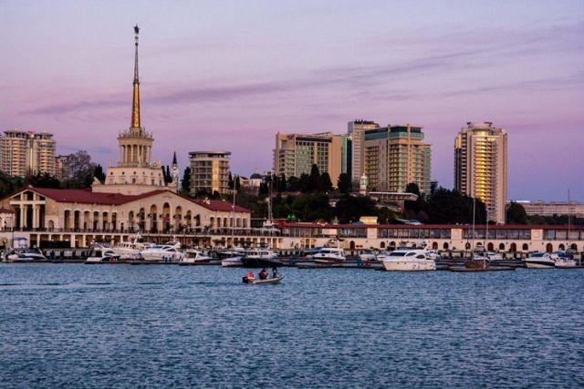 Загрузка в отелях Сочи уже составляет больше 70 %.