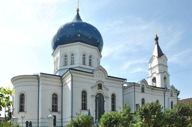 Свято-Сергиевский храм в Плавске.