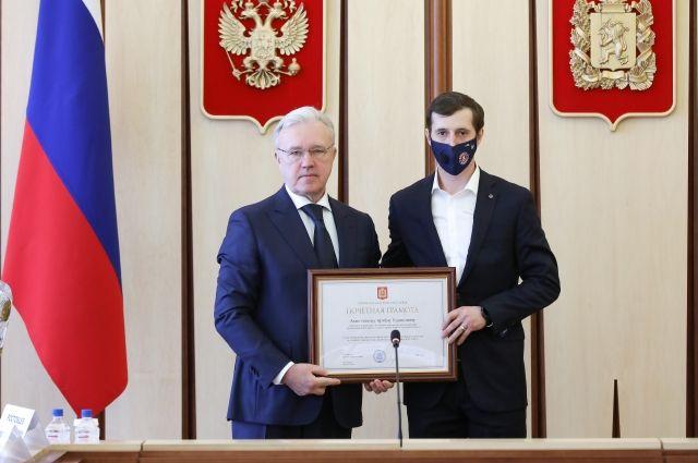Впервые «Енисей» стал чемпионом России у себя в родном городе, на своем стадионе.