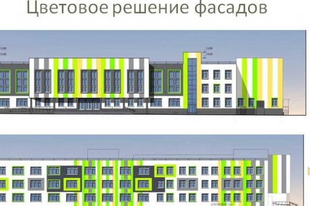 Новый соцобъект расположится прямо за зданием только что построенного нового детского сада между улицами Весенняя и 1-я Линия.
