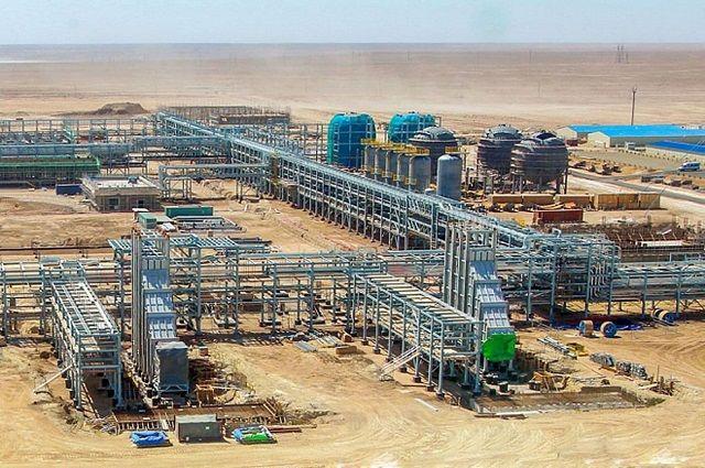 Нефтехимия Узбекистана: Устюртский нефтегазовый комплекс по выпуску полимеров. Инвестиции в проект составили более 4 млрд. долл.