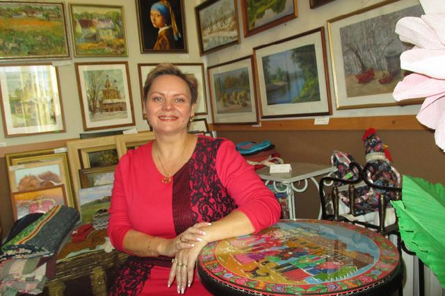 директор МБУК «Районный Центр народной культуры» Ольга Шарафетдинова.