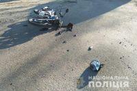 В Ровенской области мотоцикл столкнулся с грузовиком: есть пострадавший.