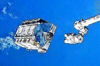 Платформа с мусором с МКС сгорит в атмосфере.