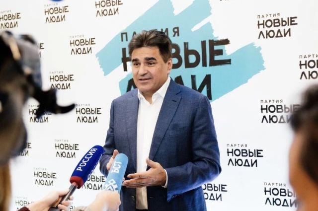 Председатель политической партии «Новые люди» Алексей Нечаев.