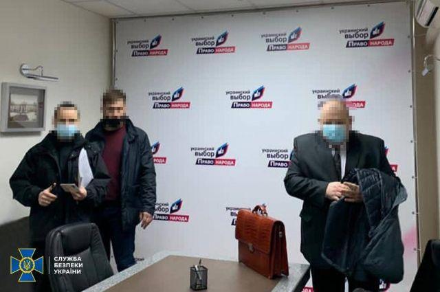 Правоохранители провели обыски в офисах организации Медведчука