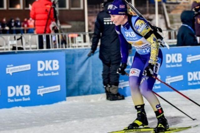 Вита Семеренко выиграла спринт на чемпионате Украины.