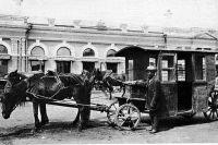 Предприимчивый крестьянин стал первым перевозчиком в Красноярске.