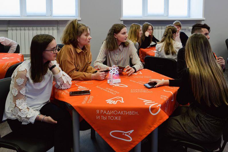 Узнавая новое через общение с учеными и преподавателями ВУЗов, ребята задумываются о будущей профессии.