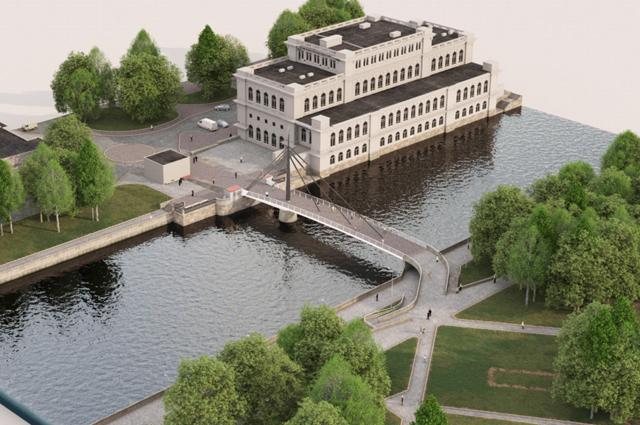 Градостроительный совет оценил концепцию моста на остров Канта