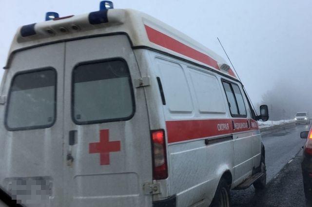 Пассажир и водитель скончались до приезда скорой помощи.