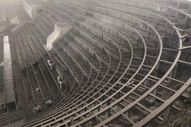 К 27 марту подрядчик должен закончить сварочные работы.