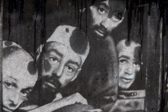 Одна из многих архивных фотографий узников лагеря смерти